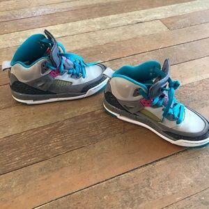 Boys Nike Jordan's size y4.5
